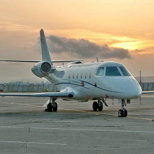 Gulfstream 2 Interior
